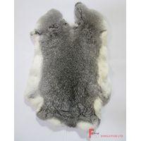 Chinchilla Rabbit Fur Skin