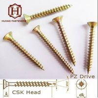Countersunk chipboard screw
