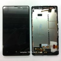 Nokia Lumia 820 LCD and digitizer assembly w/frame thumbnail image