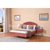 Metal Leg Fabric Bed Wholesale Folding Bed Modern Furniture thumbnail image