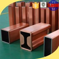 Copper mould tube for continous casting machine