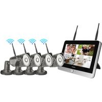 12-inch Monitor NVR WIFI IP camera Kit 4ch/8ch 960P/1080Pare optional thumbnail image