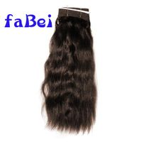 Brazilian Body Wave Weft Human Hair Wave Bundles Double Drawn 100% Natural Brown Weaves Wholesales