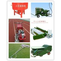 machine for sports surface