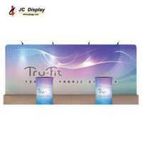 4*3M Straight Tension Fabric Exhibit Display Stand