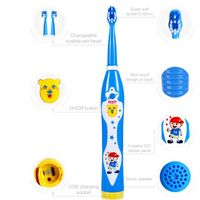 Supply High Quality Children Soft Musical Bristle Electric Toothbrush