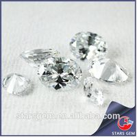 Excellent European Machine Cut Good Quality Oval Cubic Zirconia