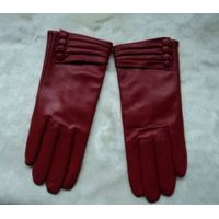 Ladies leather gloves from China thumbnail image