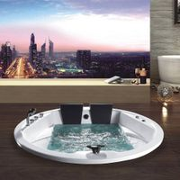 round whirlpool sex massage bathtub with air jet