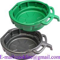 15 Litre PE Plastic Oil Recycler Drain Pan Fluid Water Drip Tray thumbnail image