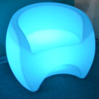 Multi Color Controller Waterproof LED Chair With Battery thumbnail image
