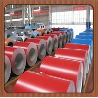color coated steel roofing material