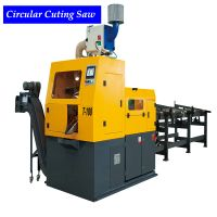 China TCT Blade Metal Round Bar Circular Saw machine