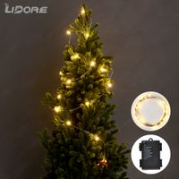 Waterproof Battery Operated Copper Wire Micro LED String Light Chain