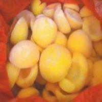 frozen fruits-frozen yellow peach halves thumbnail image