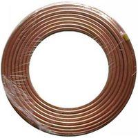 Aluminum evaporator freezer tube coil