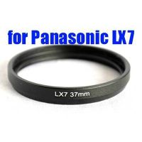 BLACK METAL LENS Filter Adapter tube Ring For PANASONIC DMC-LX7 37mm AS DMW-FA1 thumbnail image