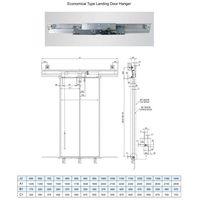 Mitsubishi Type Elevator Landing Door Hanger