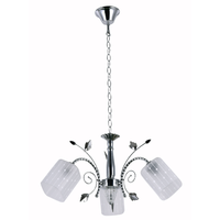 Home decorative glass chandelier light , indoor pendant lamp