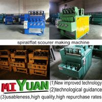 China factory scourer making machine thumbnail image
