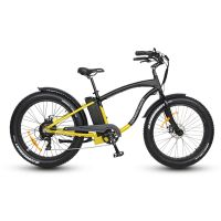 SOBOWO S60 48v 500w/750w Fat Beach Cruiser Electric Bike for Sale