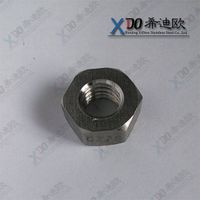 GH2132 China hardware din standard stainless steel nut hex nut