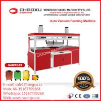 Auto Luggage Plastic Sheet Blister Vacuum Forming Machine