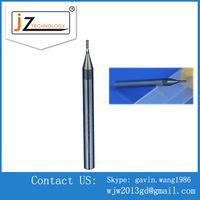 Precision CNC Long shank 2 flutes square Carbide end mills