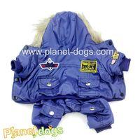 Blue dog coat