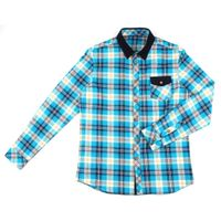 long sleeve flannel men's plaid shirts