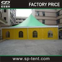 14*14M Big Warehouse Pagoda Tent For Camping Exhibition