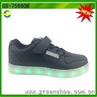 high quality colorful children LED Shoes rechargeable thumbnail image