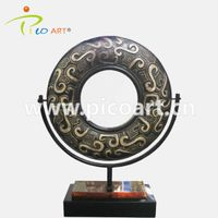 Abstract Custom Fiberglass Resin Donut Shape Made Sculpture for Interior Shop Decoration thumbnail image