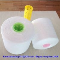 100% spun polyester yarn for sewing thread 42s/2 semi-dull