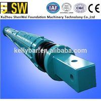 ISO Casagrande B180 Piling Rig Parts Interlock Friction Kelly Bar in Bauer Soilmec Drilling Machines