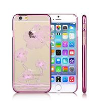 Crystal Bloom Transparent PC iPhone 6 Case