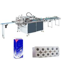 Toilet paper roll bag wrapping machine Single Rolls Packaging Machine Manufacturer thumbnail image