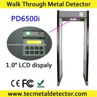 door type metal detector TEC pd6500i walk through metal detector door, security gates thumbnail image