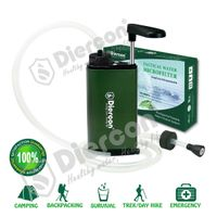 Diercon personal water purifier hand pump operated portable water filter(TW01)