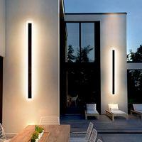 Outdoor Long Led Wall Sconces Lamp 9CM Width Stair Light Fancy Corridor Landscape Light thumbnail image