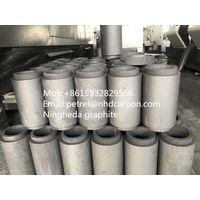 Graphite crucible for tungsten carbide sintering in vaccum furnace