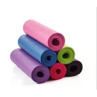 Nbr Yoga Mats Non Slip Yoga Mat Eco Friendly Workout Mat Extra Thick Exercise Mat Pilates Fitness Ma