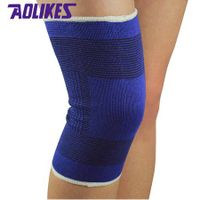 Elastic cotton knitting knee brace sleeve