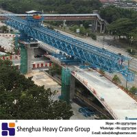 good quality double truss cable stayed bridge girder launching gantry erecting machine manufacturer