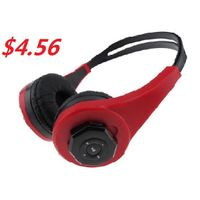Stereo MP3 Player Wireless Stereo Headphone with TF Card Slot thumbnail image