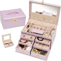 Wedding Jewelry Storage Box (Multi Colors)
