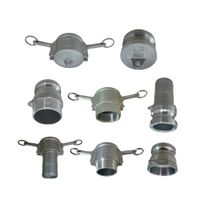 Stainless Steel Camlock Coupling with a, B, C, D, E, F Type thumbnail image