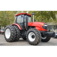 Large Agricultural Farm Wheel Tractor with Double Clutch thumbnail image