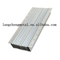 aluminum multi section console telescoping table slide extending mechanism for dining table thumbnail image