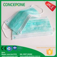 3 ply non woven face masks / dust masks